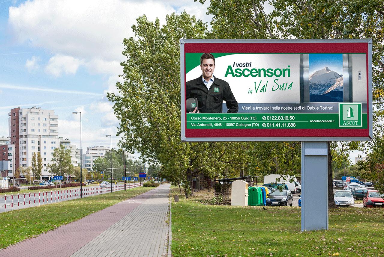 Ascot Ascensori - Affissione - Val Susa Val Susa