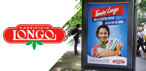 LONGO - Campagna affissione