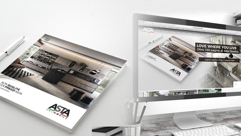 Cambio di look per Asta del Mobile | Principi ADV