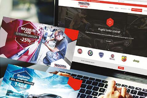 Progetto Service - Sito internet Torino