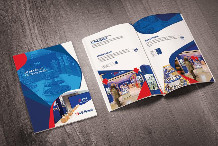 Tim 4G Retail company profile Torino