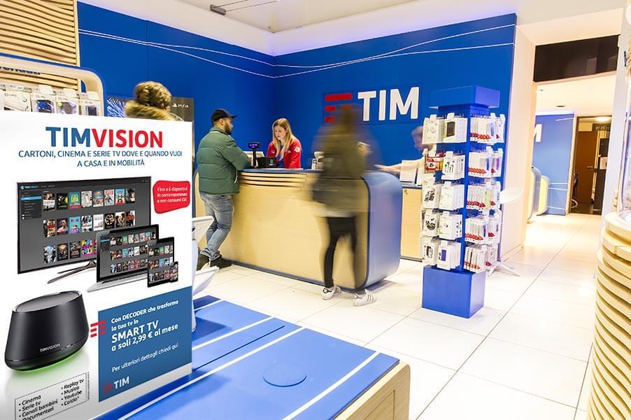 Tim 4G Retail punto vendita Torino