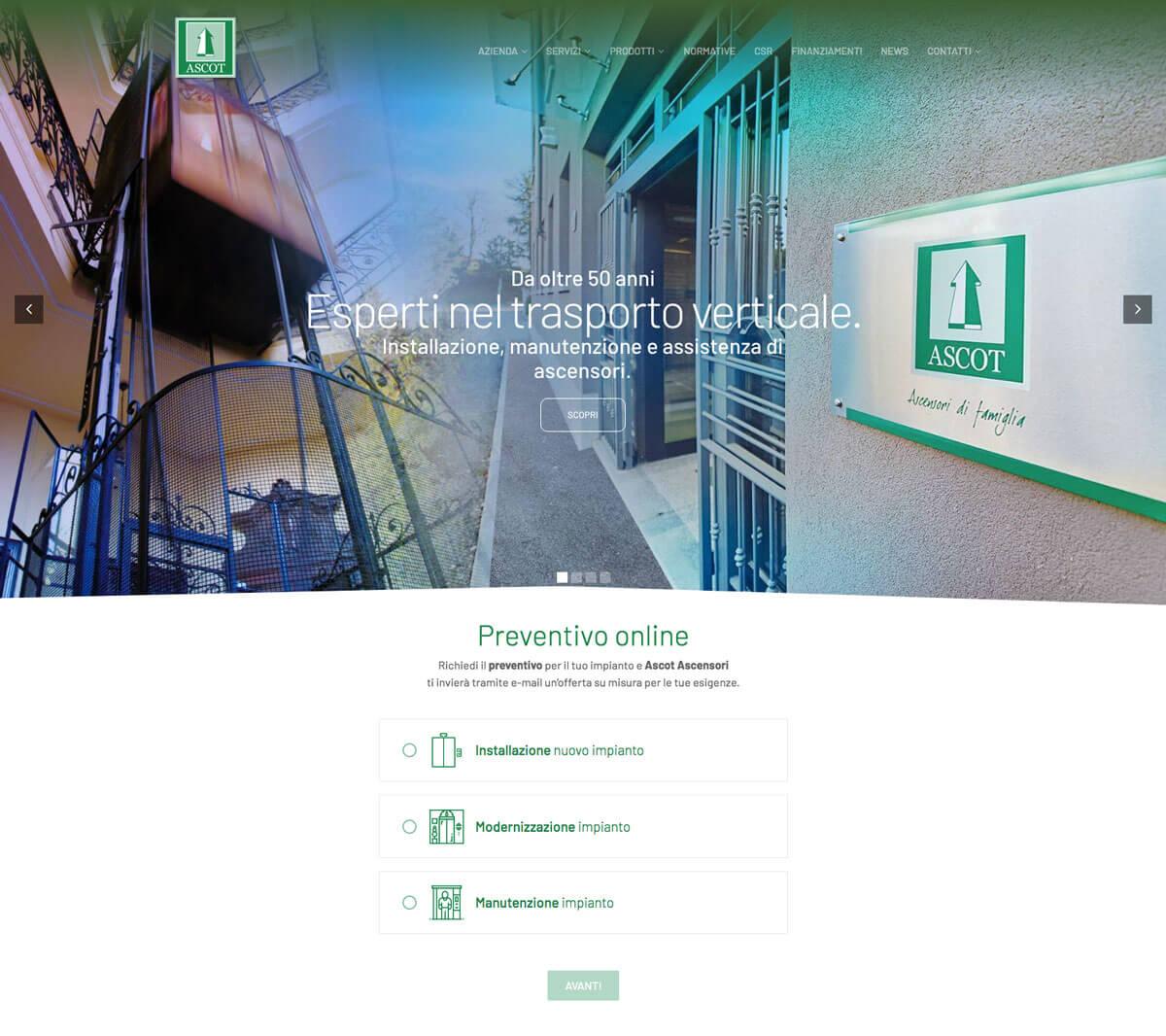 Ascot - Sito web istituzionale Torino