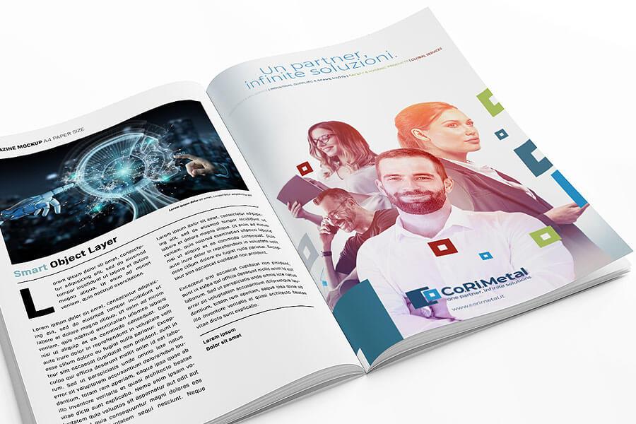 Co.Ri.Metal - Campagna rebranding Torino