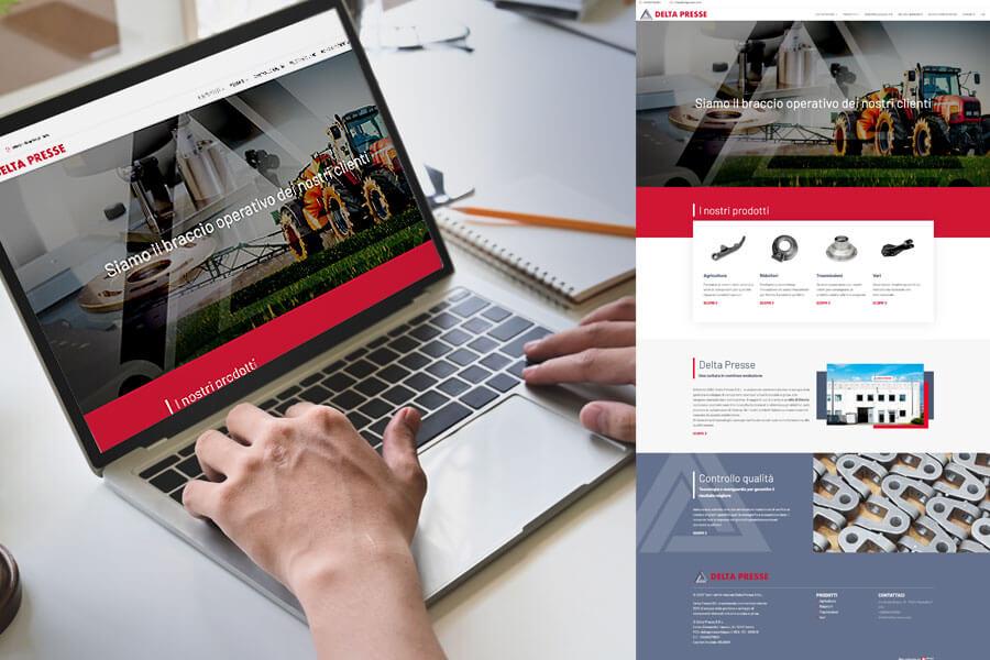 Delta Presse - Sito web Torino