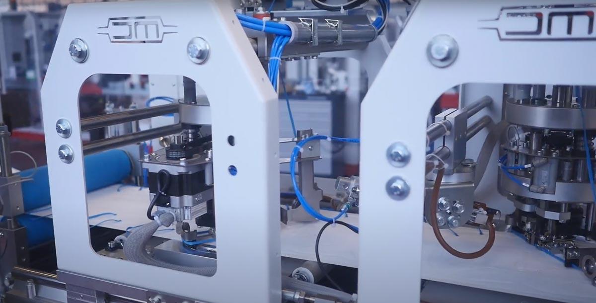 DM Packaging - Video Produzione Mascherine Torino