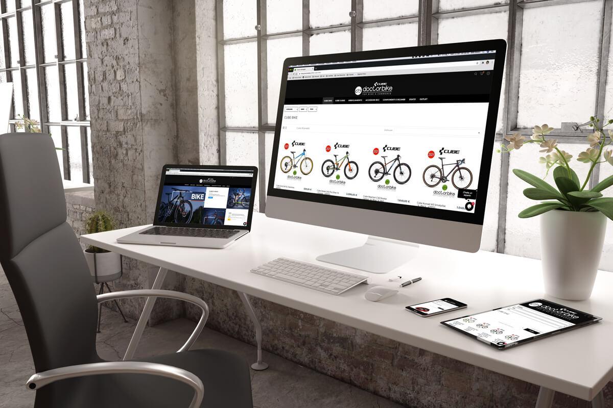 Doctorbike - sito e-commerce