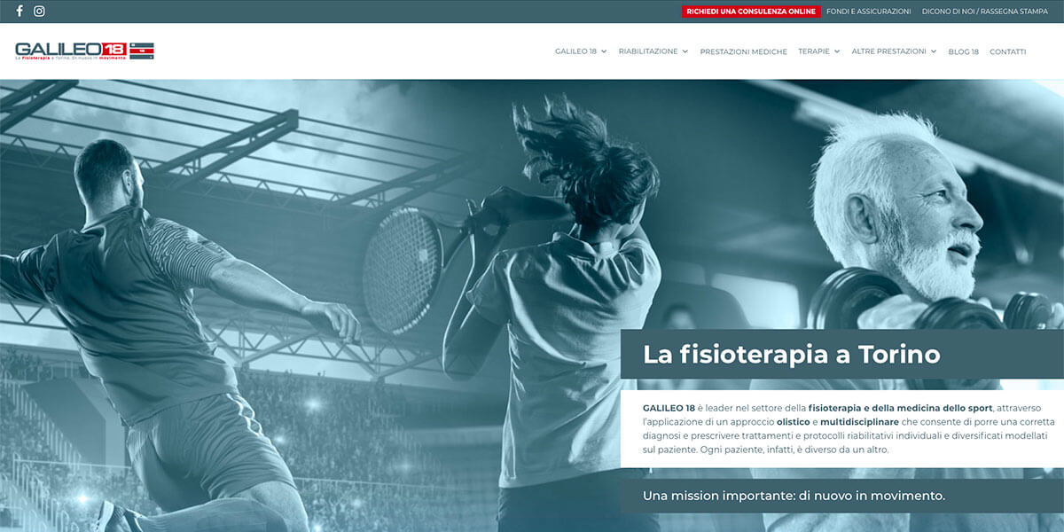 Sito web - Galileo18 Torino