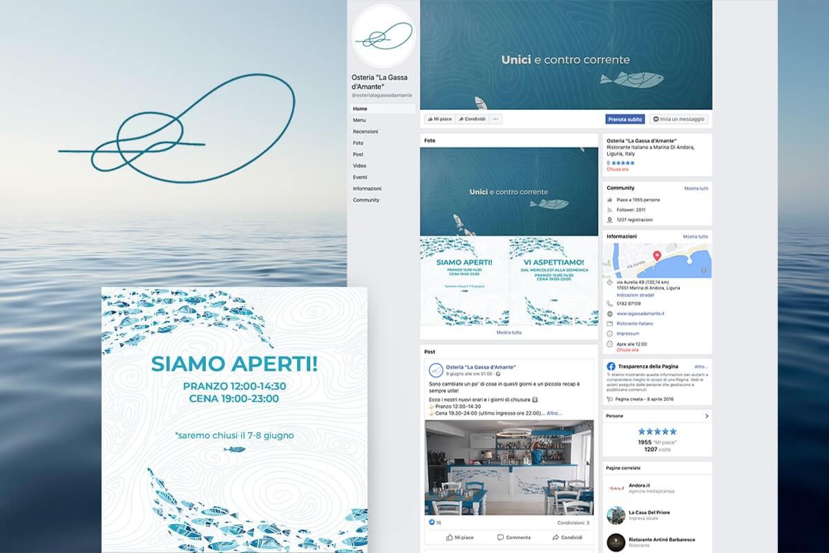 Gassa D'Amante - Gestione Social Media  Andora