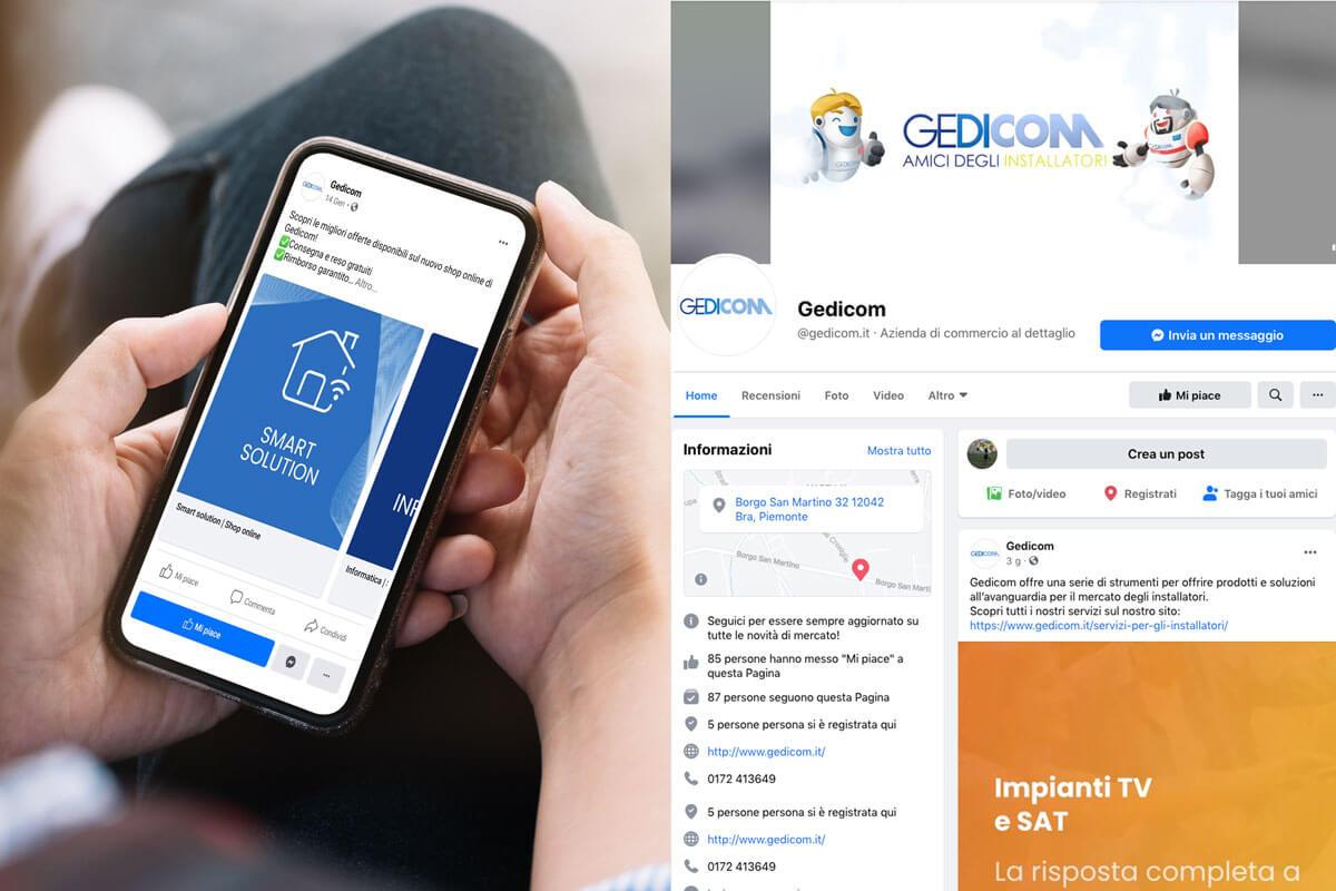 Gedicom - Gestione Social Media Torino