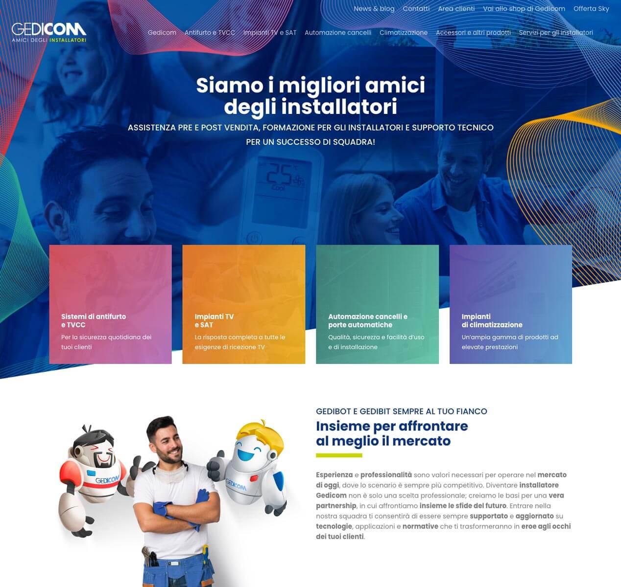 Gedicom - Sito Web Torino