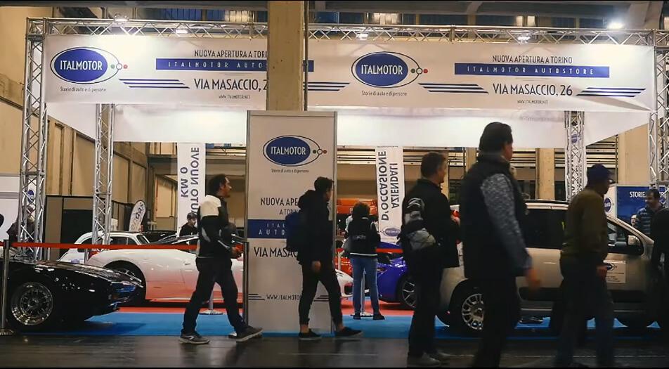 Italmotor - Siamo ad Automotoretrò 2020 Torino centro