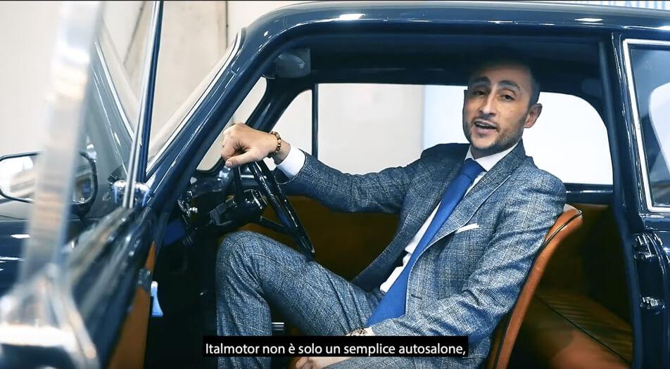 Italmotor - Automotoretrò 2020 - Intervista a Maximiliano Cacioli Torino