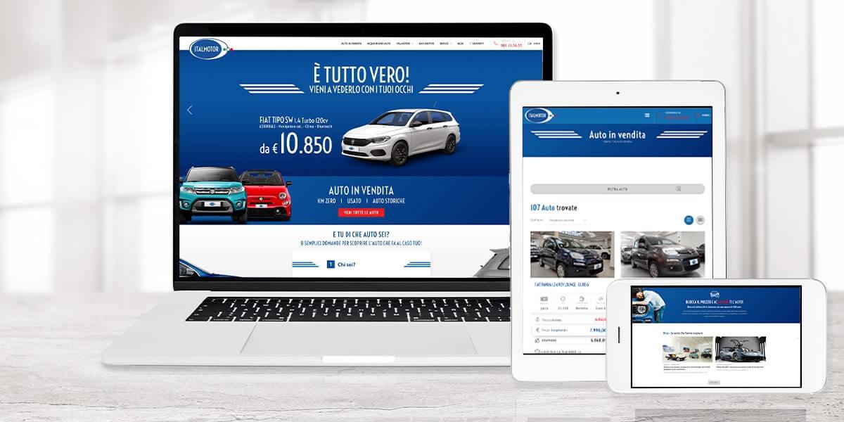 Italmotor - Sito web Torino