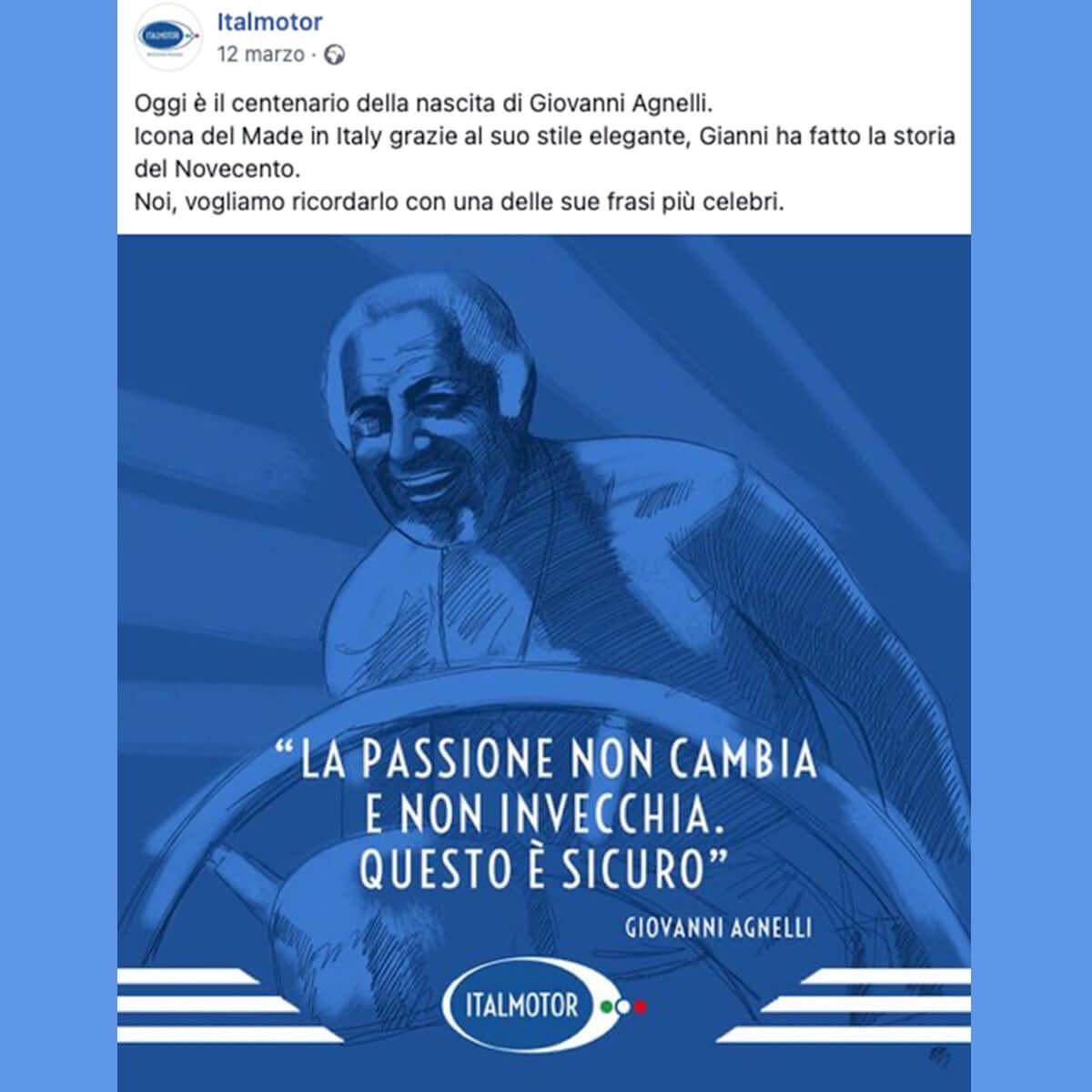 Facebook - Social media - Italmotor Torino