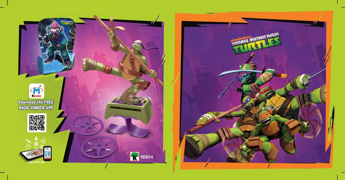 Kinder Sopresa - FMK Ninja Turtles Torino