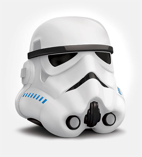 Kinder Sopresa - Render 3D Stormtrooper - Guerre Stellari Lussemburgo