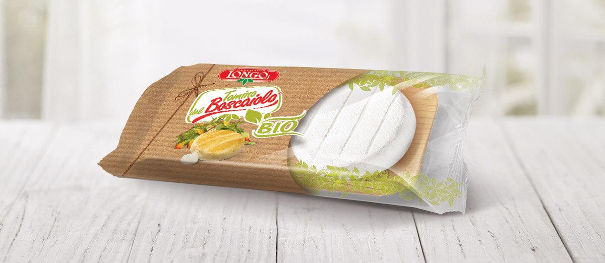 Packaging Boscaiolo Bio Caseificio Longo