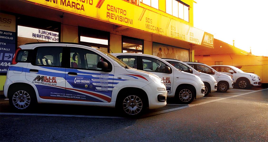 Millemiglia Team Orbassano - Personalizzazione mezzi Orbassano