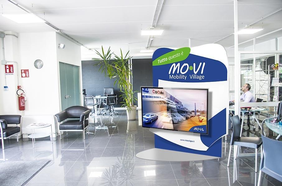 Mo.VI - Mobility Village - Borgaretto Torinese - Internal Identity Borgaretto Torinese