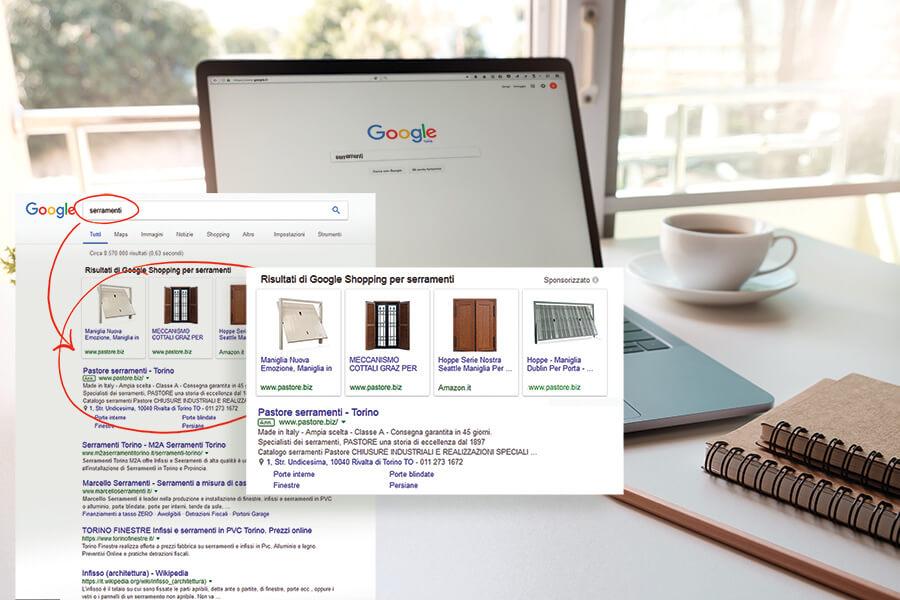 Pastore - Chiusure di sicurezza - Google Adwords Torino