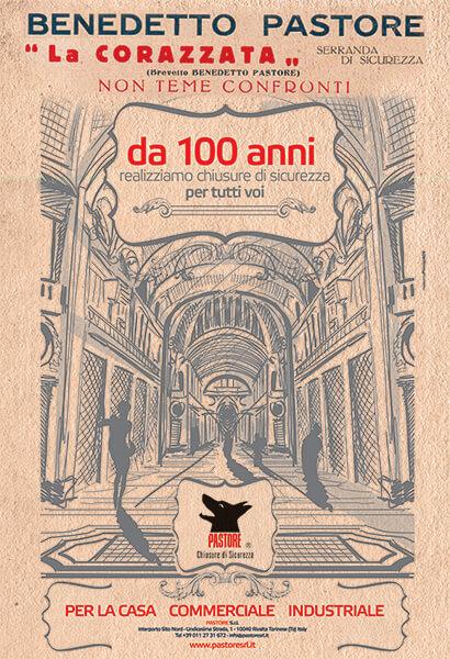 Pastore - Chiusure di sicurezza - Campagna Istituzionale Torino
