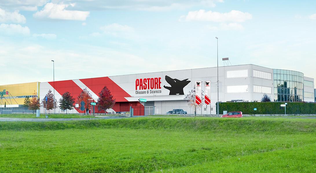 Pastore - Chiusure di sicurezza - Progettazione Insegna Torino