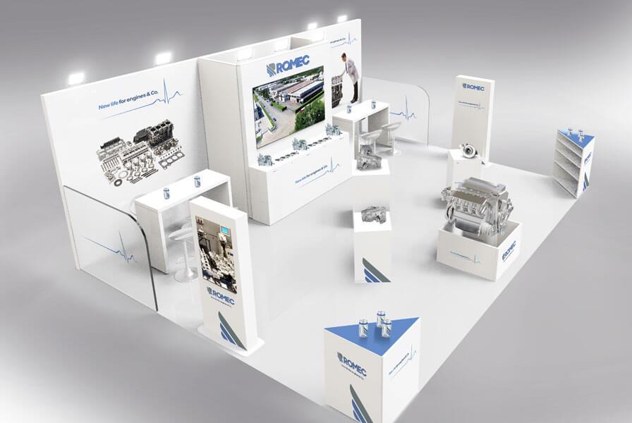 Ro.mec - Progettazione e realizzazione stand ReMaTec 2019 Torino
