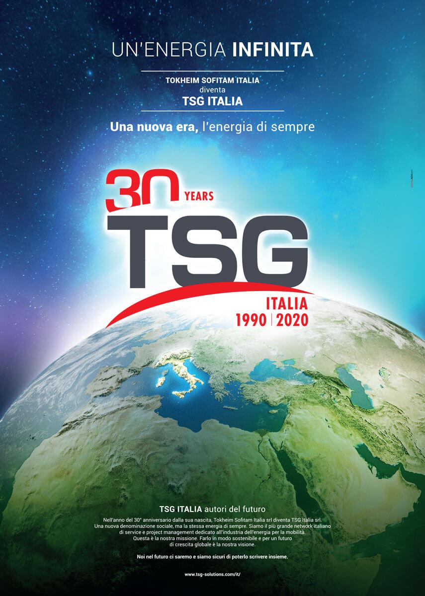 TSG - Campagna Stampa Charge 30 anni Torino