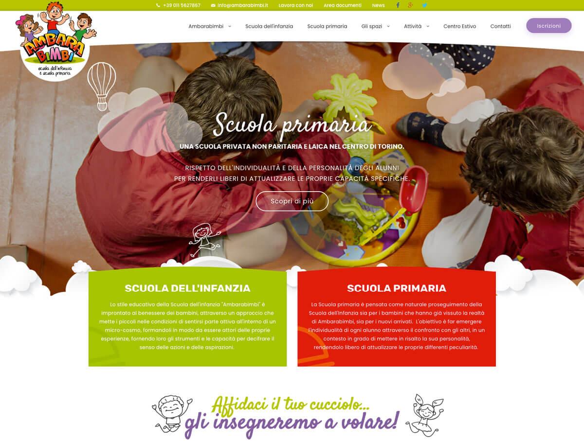 Ambarabimbi - Sito web Torino
