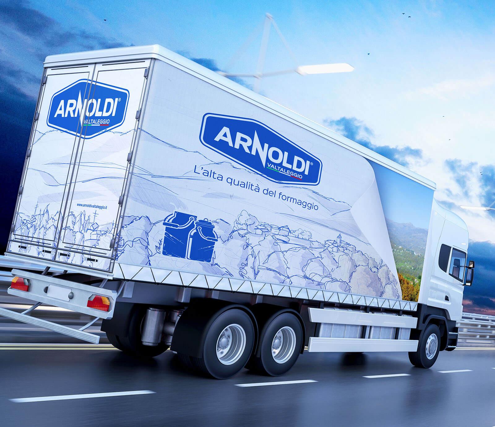 Mezzo di lavoro Arnoldi Lombardia