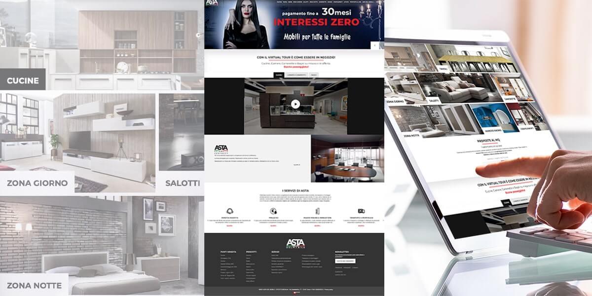 Asta del Mobile - Sito web Torino
