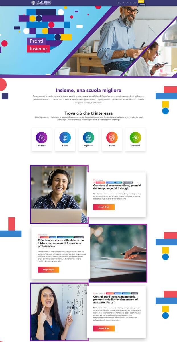Cambridge University Press - Sito web Torino