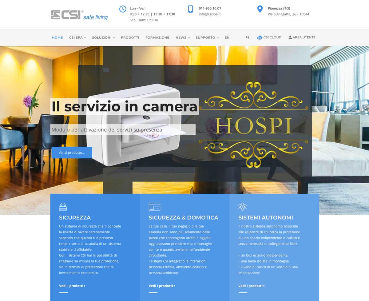 CSI Centro Sicurezza Italia Torino