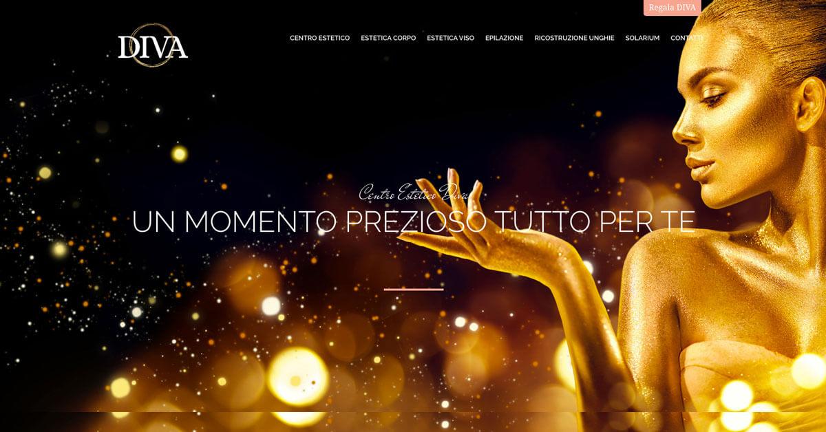 Estetica DIVA - Sito web Torino