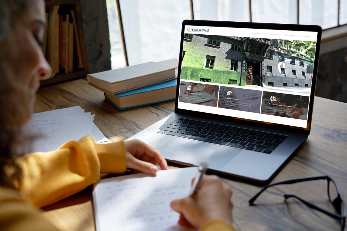 Studio Rizzi - Sito web Torino