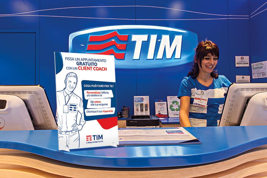 TIM desk display