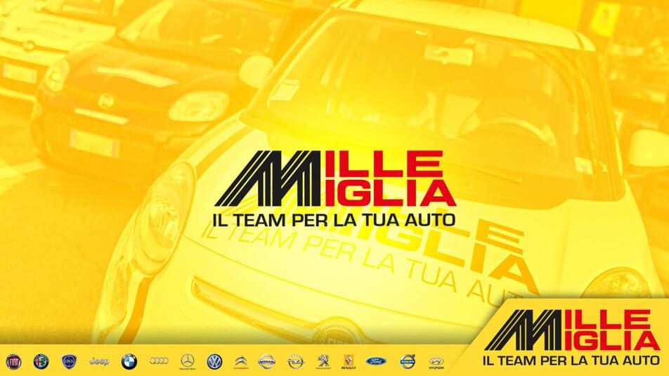 Video tablet centro auto mille miglia Orbassano